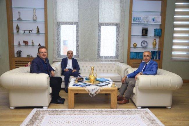 Başsavcılardan Rektör Karaman'a Ziyaret